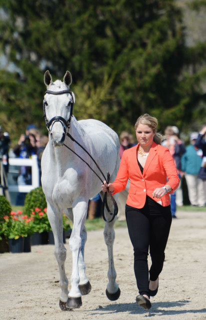 Caitlin Silliman and Catch a Star at Rolex 2015. Photo by Jenni Autry.
