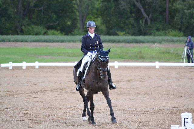 Kim Severson and Fernhill Fearless. Photo by Leslie Wylie.