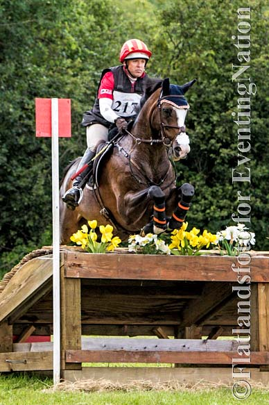 Winner of the Open Intermediate division is Buck Davidson riding Wundermaske.  Photo by Joan Davis