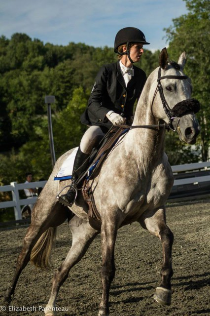 Deszi in show jumping. Photo by Elizabeth Parenteau Photography.
