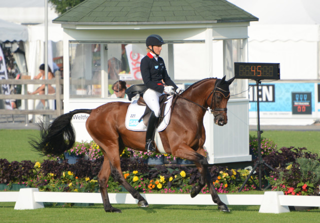 Ingrid Klimke and Horseware Hale Bob. Photo by Jenni Autry.