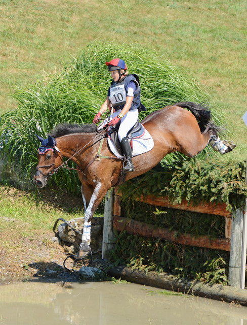 Justine Dutton and Jollybo (GBR). Photo by Jenni Autry.