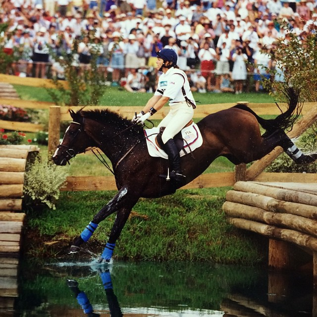 Kerry Millikin and Out and About at the 1996 Olympics in Atlanta. Photo via Dean Graham / USEA Archive.