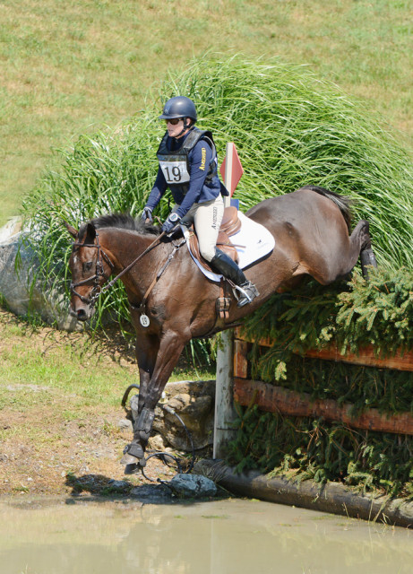Kim Severson and Fernhill Fearless. Photo by Jenni Autry.