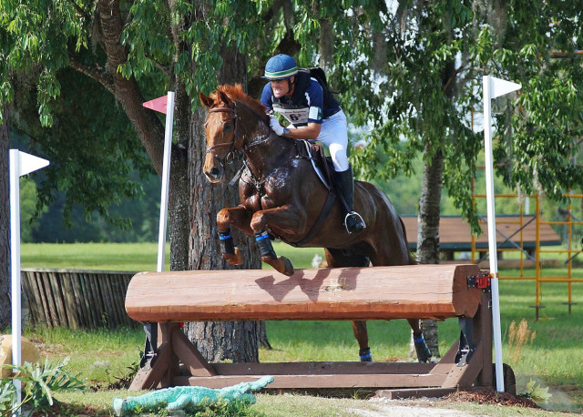 Kyle Carter and FR's Trust Fund at Ocala 2015. Photo by Bailey Moran.