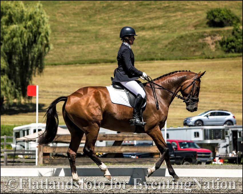 Kylie Dermody and Lup the Loop. Photo courtesy of Joan Davis/Flatlandsfoto.