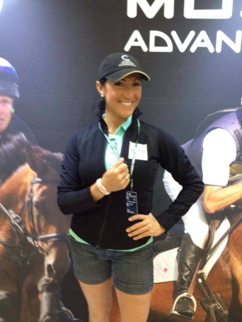 Laine Ashker sports her MOJO at Rolex.
