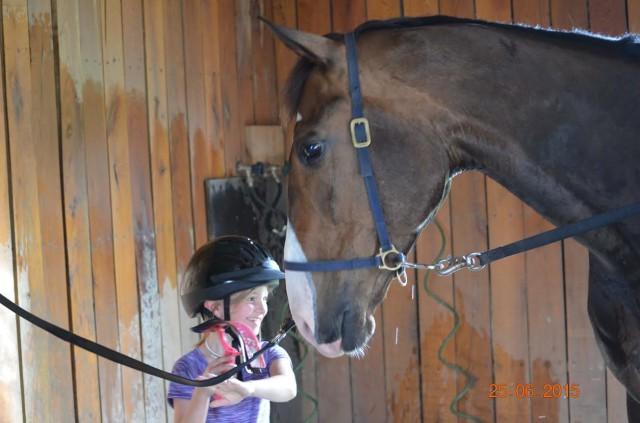 Alexiea Blake and Landretti. Photo by Jen Blake.