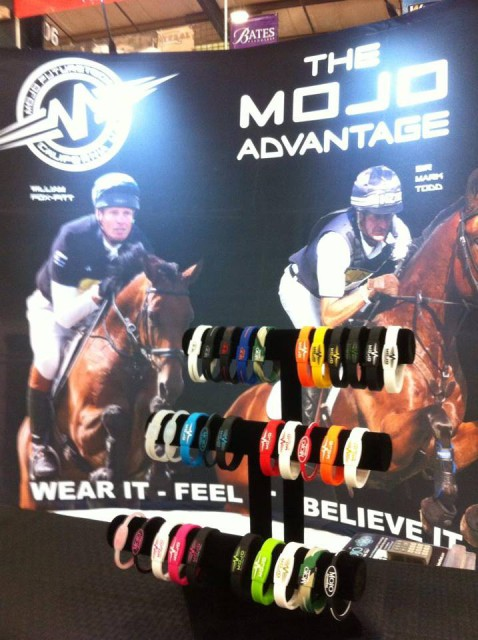 The MOJO booth at Rolex.