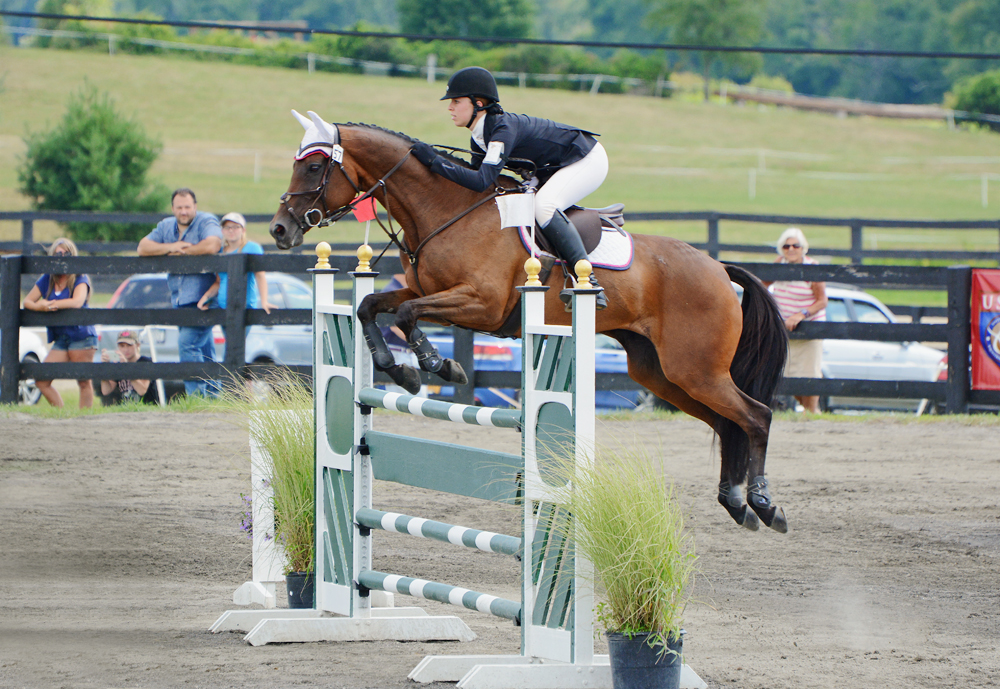 Madeline Backus and P.S. Arianna. Photo by Jenni Autry.