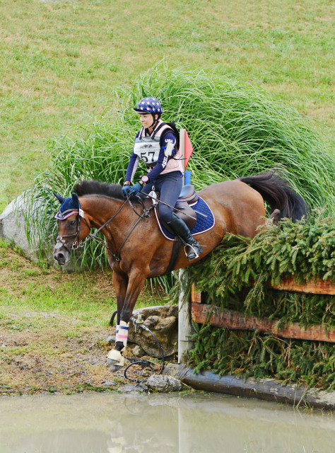Madeline Backus and P.S. Arianna at Millbrook. Photo by Jenni Autry.