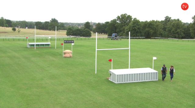 Fence 25, Up & Under. Screenshot from Burghley.TV