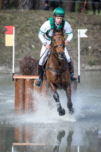 Chris Burton and TS Jamaimo at Fontainebleau. Photo via FEI/Eric Knoll.