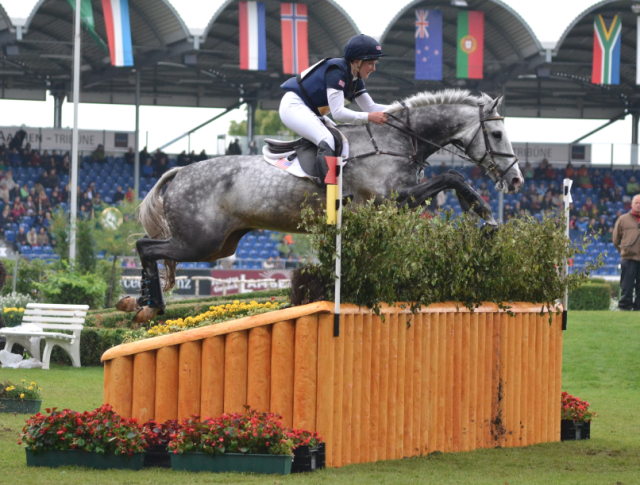 Tiana Coudray and Ringwood Magister at Aachen in 2013. Photo by Jenni Autry.
