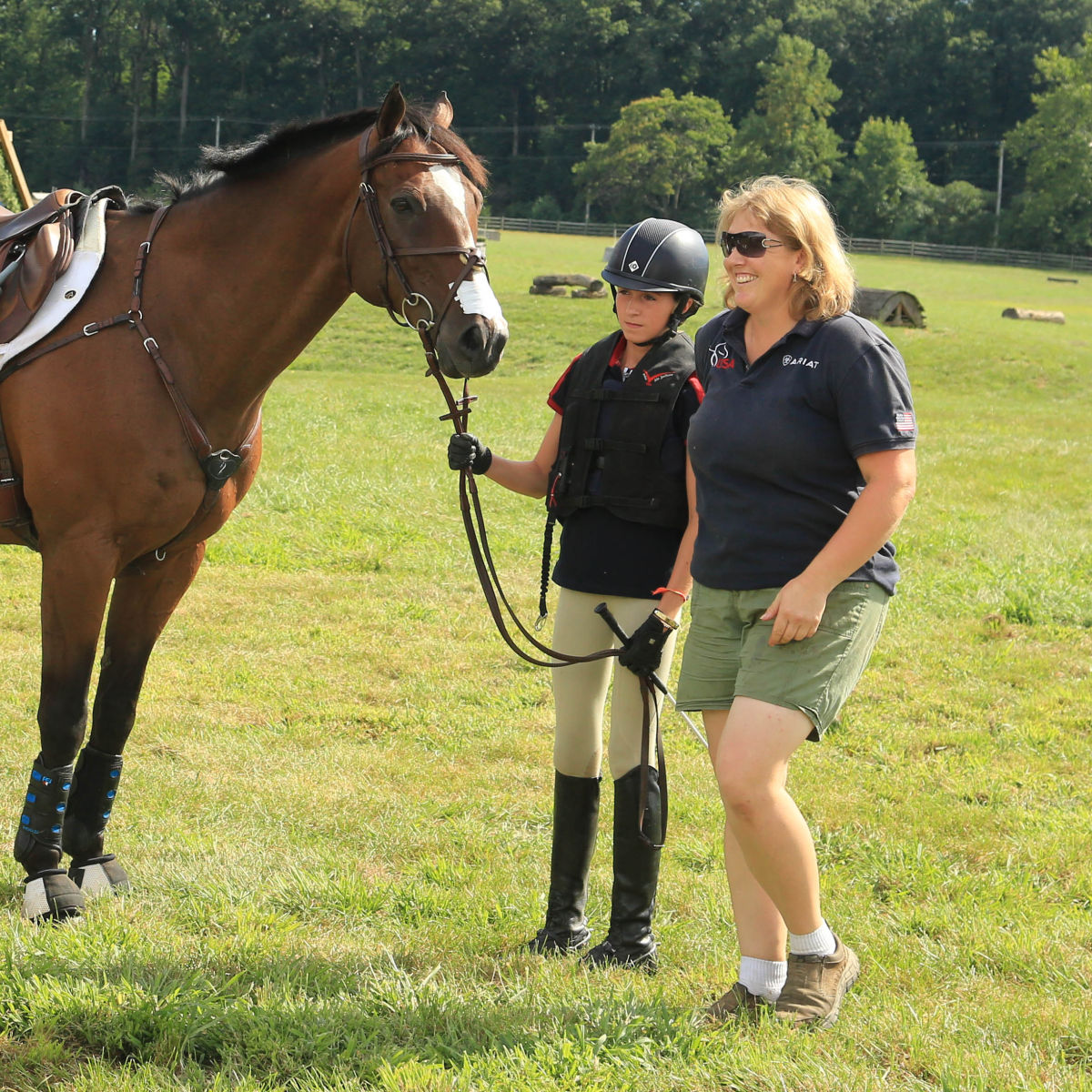 martin and dutton educate entertain at eventing with the stars eventing nation three day. Black Bedroom Furniture Sets. Home Design Ideas