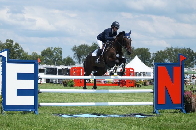 Kim Severson and Fernhill Fearless. Photo courtesy of Bailey Moran.