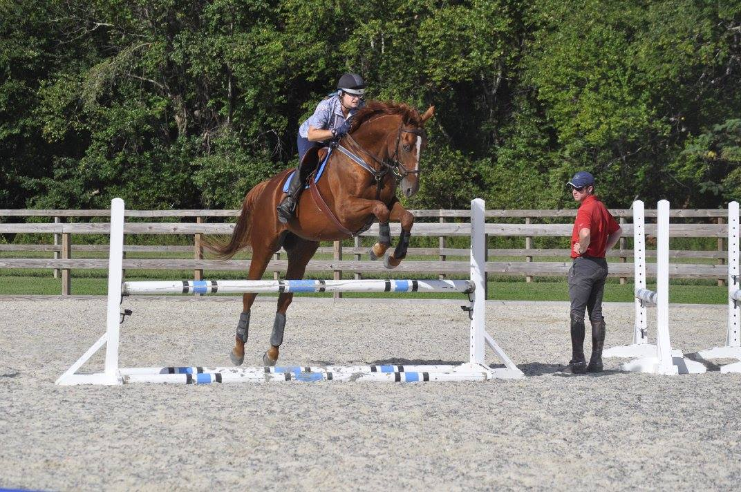 Inspiration it s all around you eventing nation three for Where to go horseback riding near me