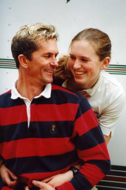Rick Wallace and his daughter Elisa. Photo courtesy of Rick Wallace.
