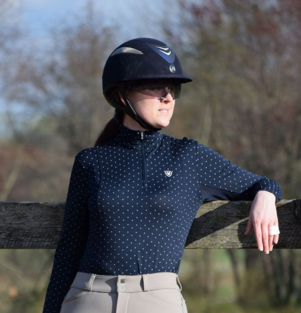 The Sunstopper 1/4 Zip offers a pullover 1/4 zip styling (complete with stock tie loop). Photo by Lorraine Peachey.