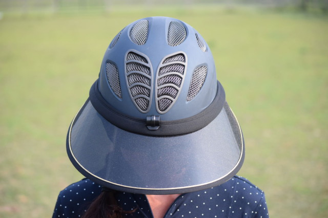 Soless are transparent helmet visors that fasten to your helmet with an adjustable fastener. Photo by Lorraine Peachey
