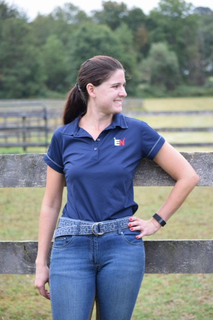 I was delighted to see the number of colors and different equestrian inspired designs that Mango Bay offers their belts in. Photo by Lorraine Peachey.