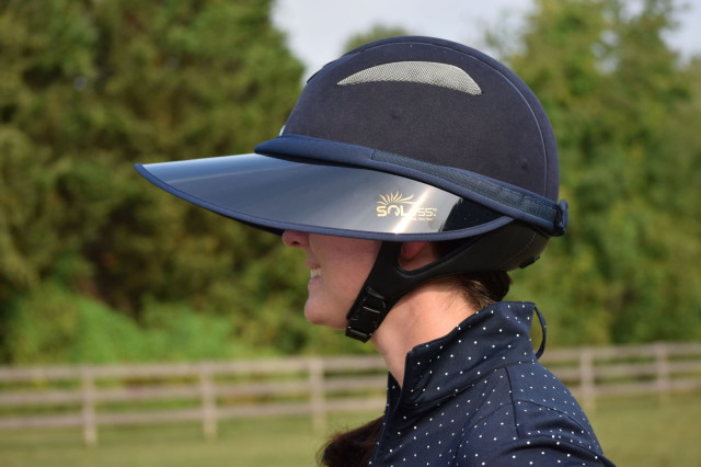 The Soless Velcro is a brand new model that...wait for it...can even be worn without your helmet. So it can even double as a visor! Photo by Lorraine Peachey.