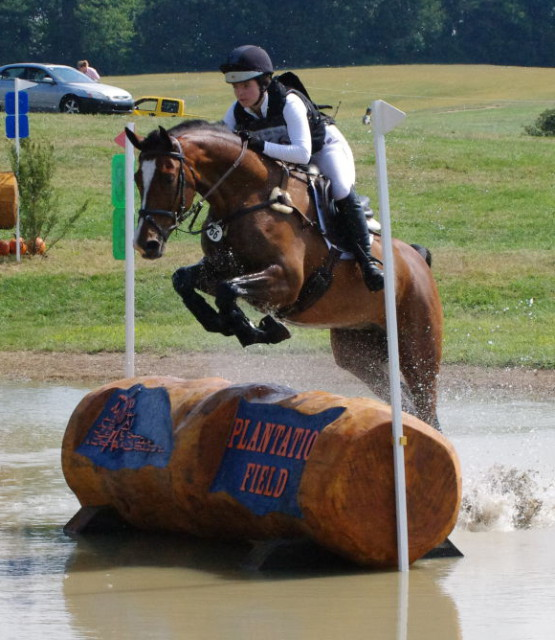 Skyler Decker on Inoui Von Bost, Plantation Field International CIC*