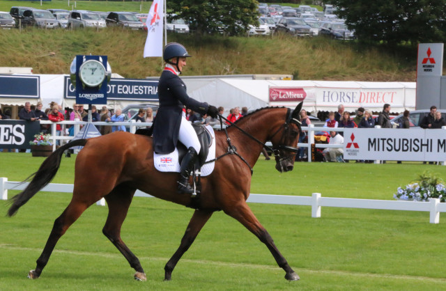 Gemma Tattersall and her OTTB Arctic Soul