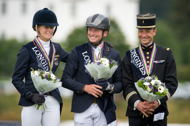 Michael Jung after winning the 2015 European Eventing Championships. Photo by Tony Parkes/FEI.