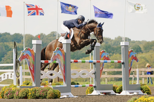 Kim Severson and Cooley Cross Border. Photo by Jenni Autry.