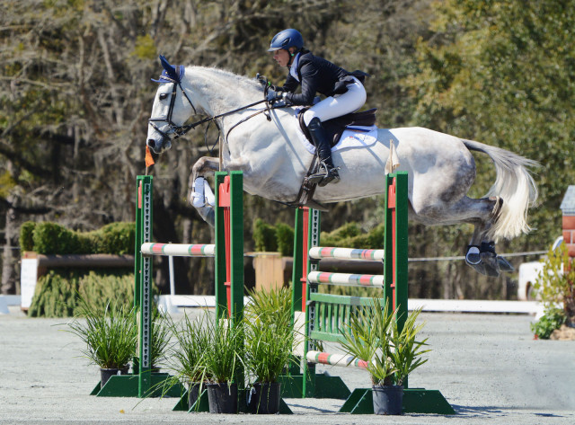 Liz Halliday-Sharp and HHS Cooley at Red Hills 2015. Photo by Jenni Autry.