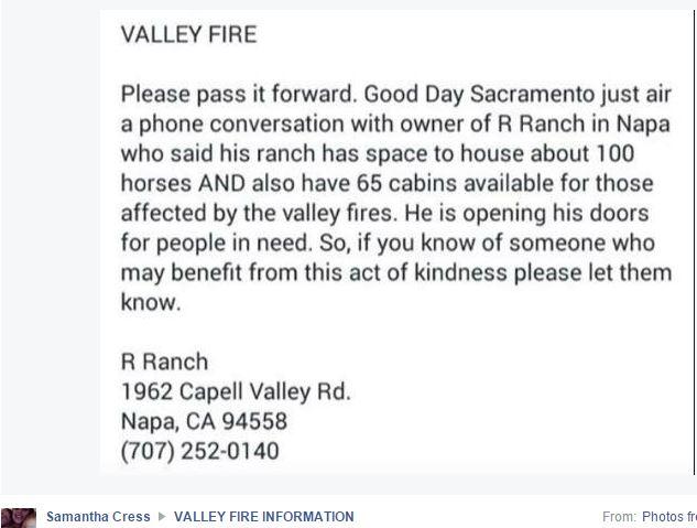 R Ranch Fire