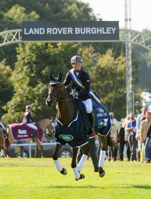 Your 2015 Land Rover Burghley Champions Michael Jung and La Biosthetique Sam Photo by Nico Morgan