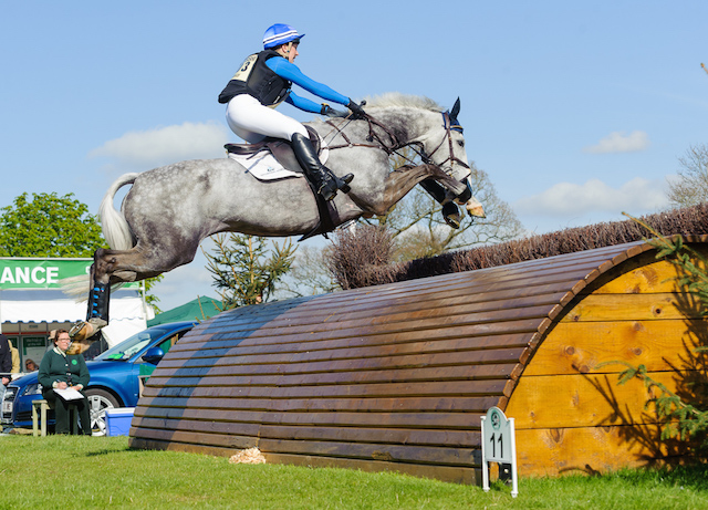 Tiana Coudray and Ringwood Magister at Badminton CCI**** 2013. Photo by Nico Morgan