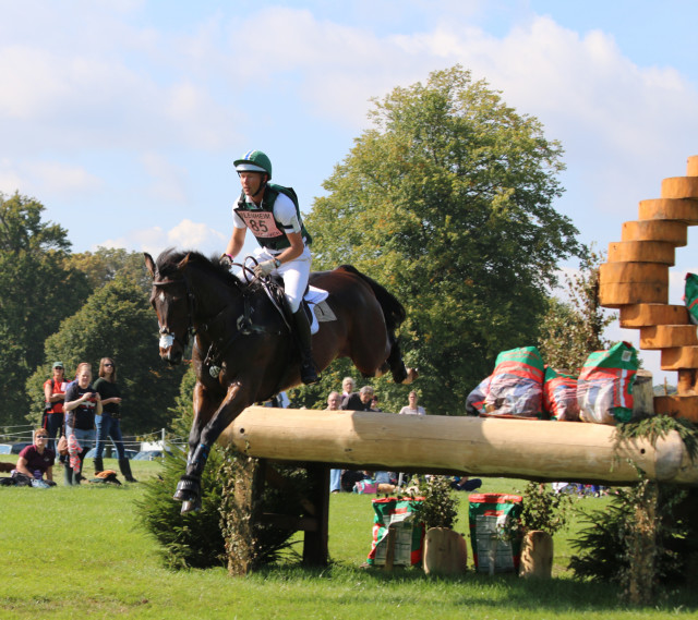 Clark Montgomery and Loughan Glen zoom into the lead at Blenheim Palace CCI3*