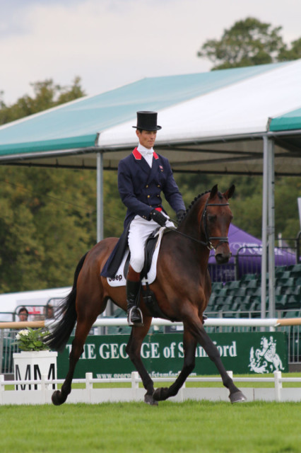 William Fox-Pitt and Fernhill Pimms tie for the lead at Burghley after a beautiful test Photo by Samantha Clark