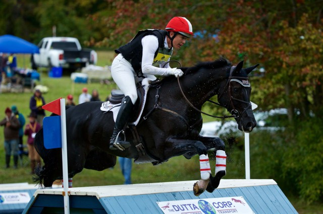 Tamie Smith and Mai Baum kept a tight hold on their first place standings after cross country. Photo by Rare Air Photography.