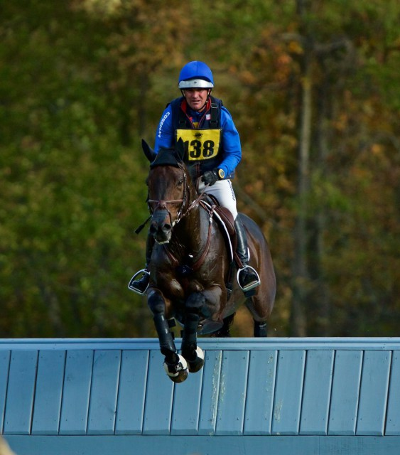 Phillip Dutton and Fernhill Cubalawn are currently in 5th place after cross country. Photo by Rare Air Photography.