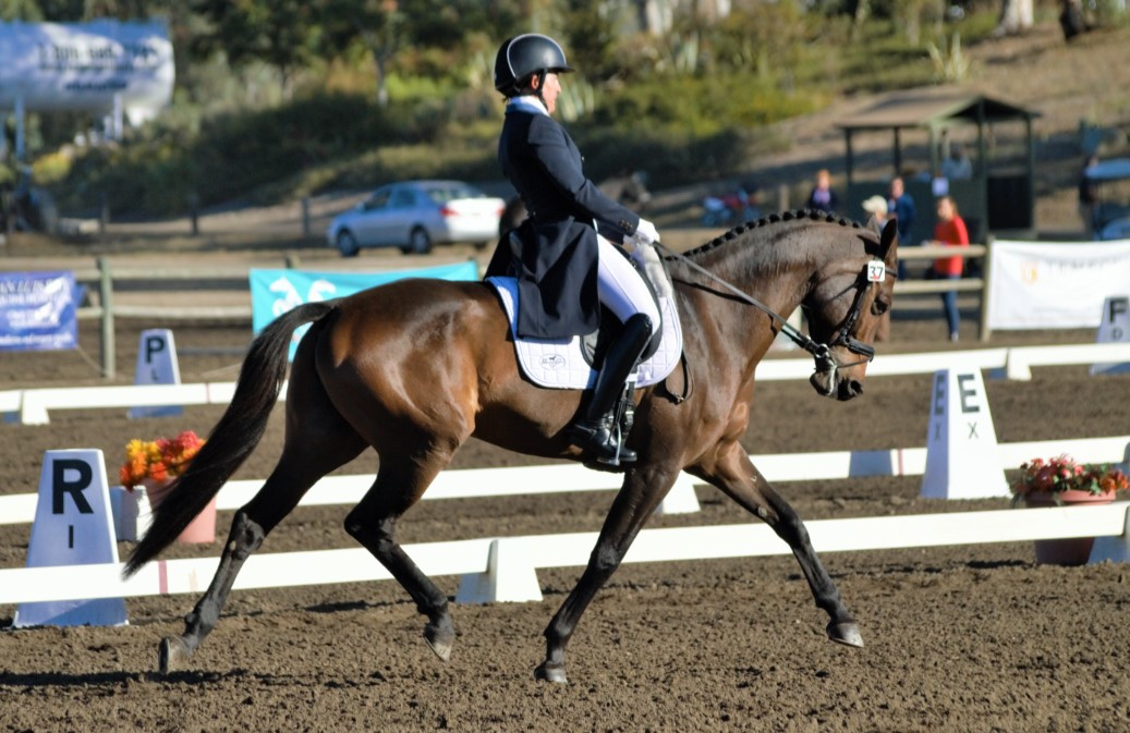 Barb Crabo and Over Easy. Photo by Sally Spickard.