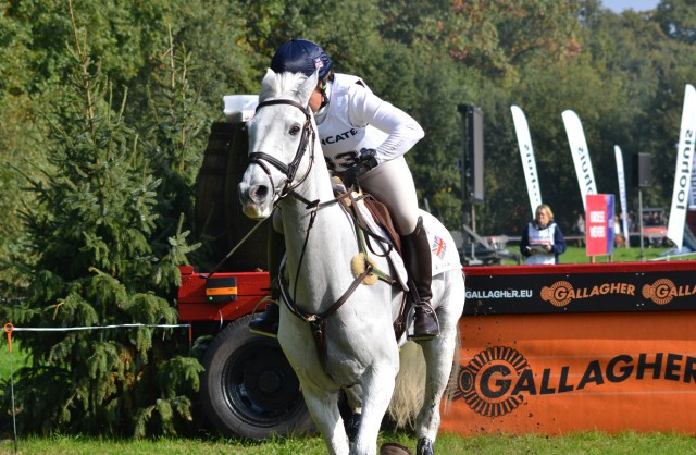 Great Britain's Pippa Funnel and Billy the Biz. Photo by Leslie Wylie.