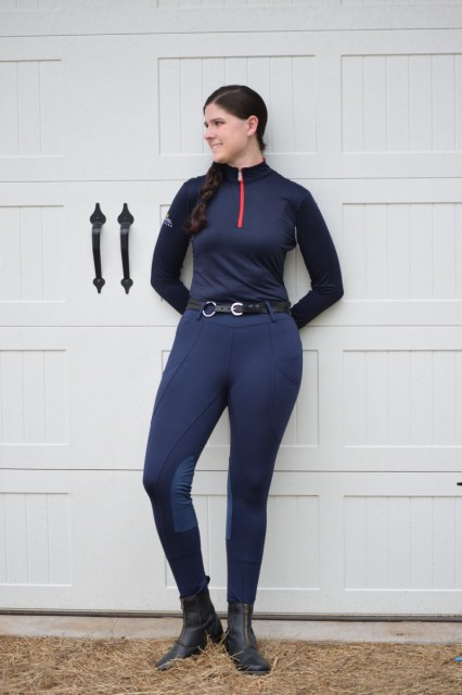 The Cargo Pocket breeches have done well in cooler temperatures. I'd say that for me personally, living in the Mid-Atlantic region, the breeches are versatile enough to be a three season breech. Photo by Lorraine Peachey.
