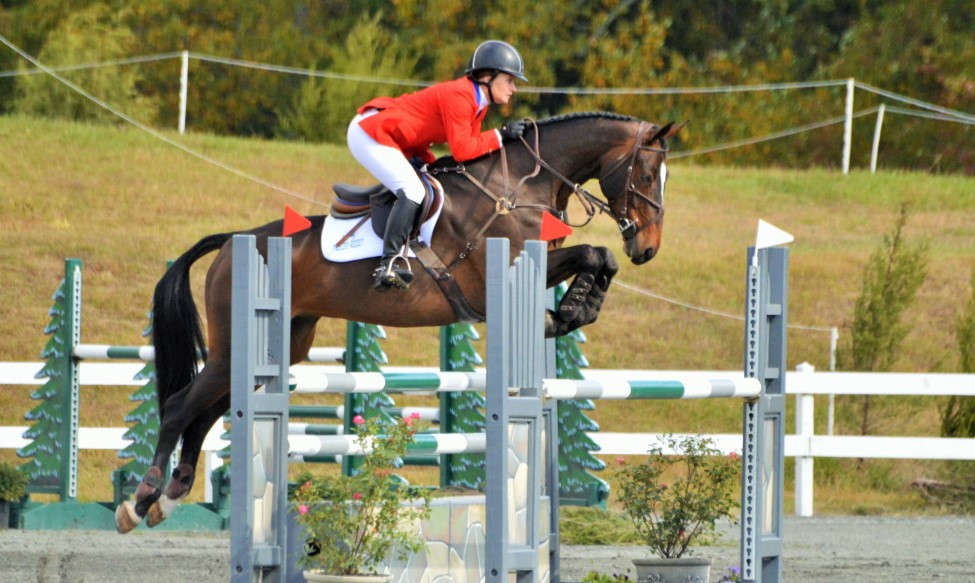 Hannah Sue Cooley Dream Eventing Nation Three Day