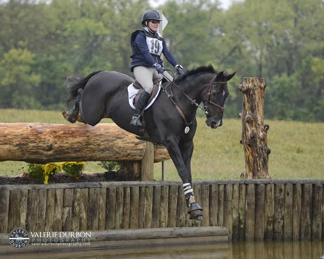 Kim Severson and Cooley Cross Border. Photo by Valerie Durbon.