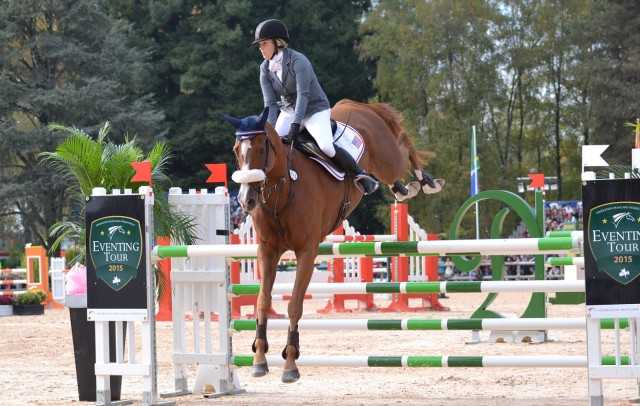 Katie Ruppel and Houdini (USA). Photo by Leslie Wylie.