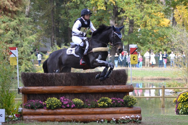 Michael Jung and fischerRocana FST. Photo by Leslie Wylie.