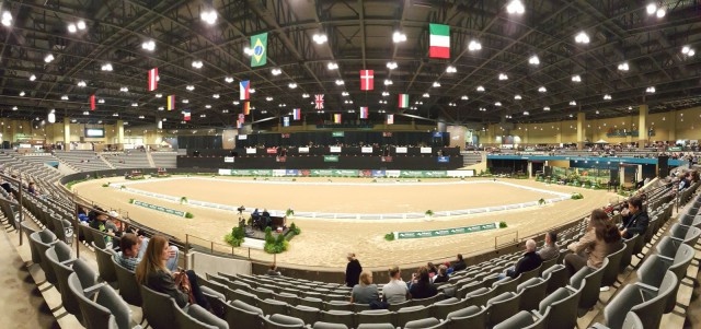 The Alltech Arena at the Kentucky Horse Park for the 2015 U.S. Dressage Finals. Photo by Dave Taylor.