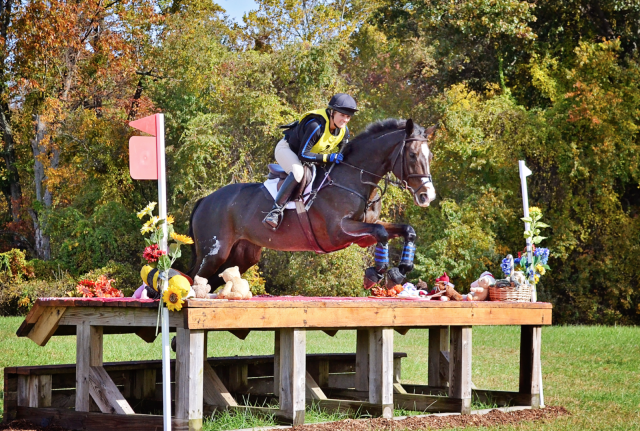 Candace Kircher and Catalina at Fair Hill CCI2* in 2012. Photo by Jenni Autry.