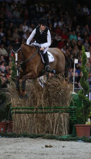 Jordan Linstedt and Palm Beach. Photo courtesy of Stuttgart German Masters.