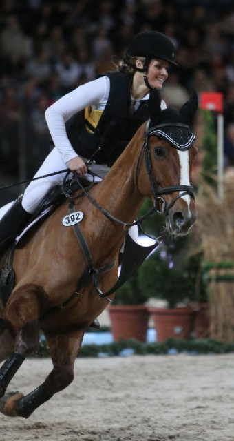Jordan Linstedt and Palm Beach. Photo courtesy of Stuttgart German Masters.