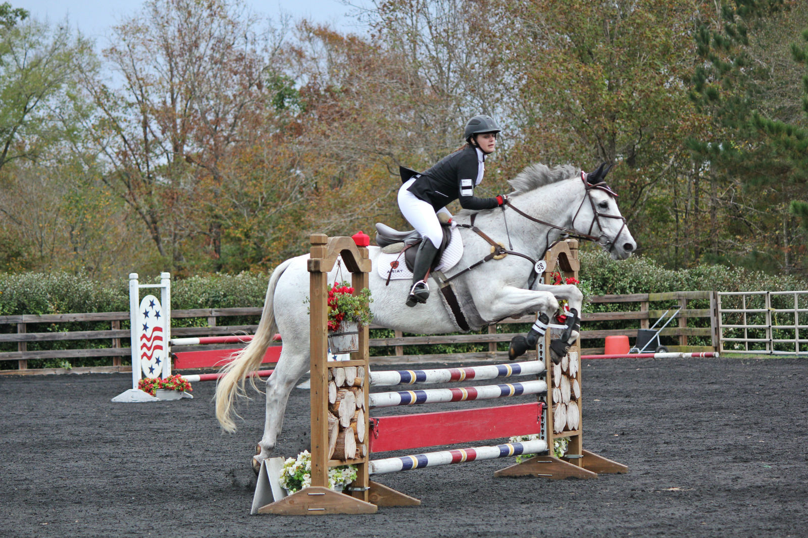 Kaitlyn Ruff and Shadowfax. Photo by Bethany Beres.